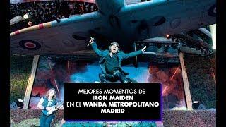 MEJORES MOMENTOS DE IRON MAIDEN EN MADRID