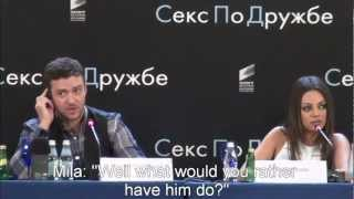 Mila Kunis Tells Off A Reporter In Fluent Russian