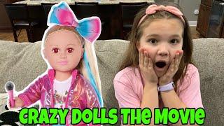 Crazy JoJo Siwa Doll The Movie! Escape The Crazy Dolls!