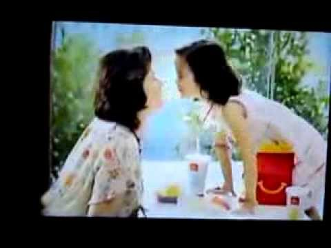 New Mcdonalds commercial Grand Ma and Her Grand Daughter sing Downtown