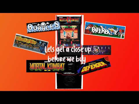 Arcade1up Mortal Kombat Legacy edition w/ More games  ( Before you preorder ) from mdot_516