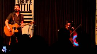 Howie Day feat. Ward Williams - Entrance and Love a Lie (clip) - Eddie's Attic 09-26-2013