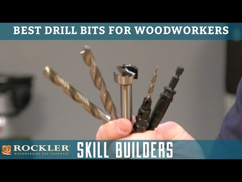 Best Drill Bits for Woodworking | Rockler Skill Builders