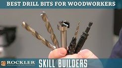 5 Best Drill Bits for Woodworking Projects