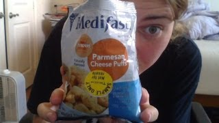 Medifast: Parmesan Cheese Puffs Review