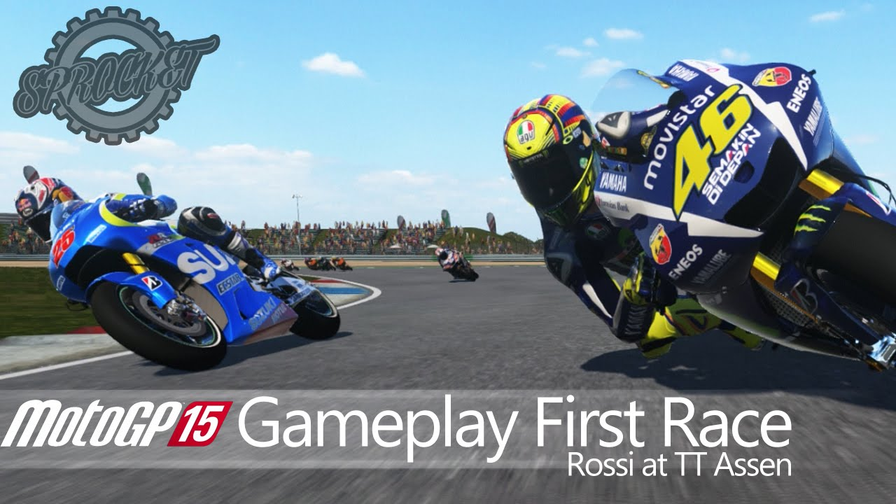 Motogp  Gameplay Xbox One First Race Rossi At Tt Assen Motogp  Game