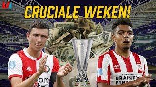 Cruciale Europese Weken: Do Or Die Voor AZ, Feyenoord & PSV