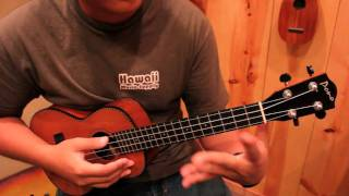 "Ukulele Tutorial ""While My Guitar Gently Weeps"" - Jake Shimabukuro versionPart 2"