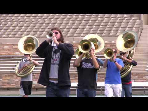 The Sound of the University of Tulsa Golden Hurricane Marching Band