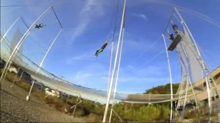 Trapeze Heroes 柏市高柳にある、空中ブランコスクール トラピーズ・ヒーローズにて。