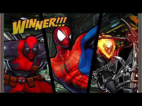 ULTIMATE MARVEL VS. CAPCOM 3 Ghost Rider,Deadpool Spiderman Gameplay Request