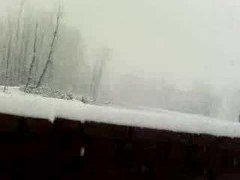 snow fall in kashmir