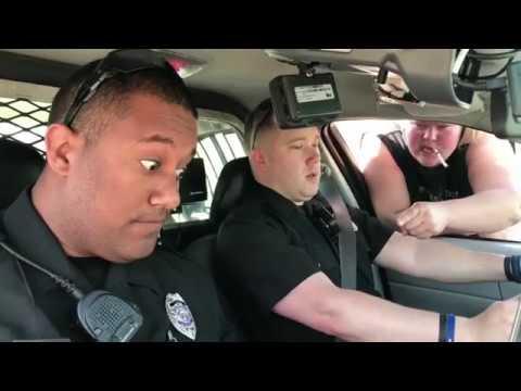 Trailer Trash Tammy VS Cops!!! Hilarious!!!