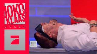 Gegenstände mit dem Bauch fühlen - Erbauchen | Spiel 4 | Joko & Klaas gegen ProSieben