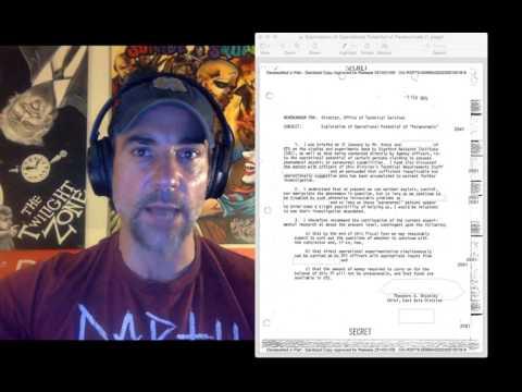 Docs Released, Stargate Program, Sun Streak Project, Psychic Spies & Paranormal Mind Manipulation