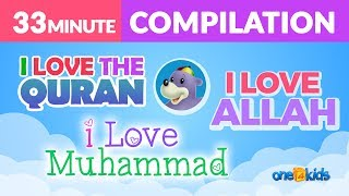 I LOVE ALLAH, MUHAMMAD & THE QURAN - ZAKY SONG COMPILATION