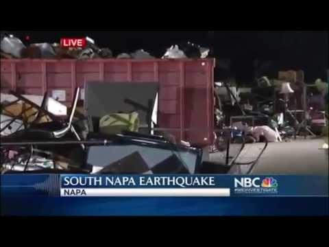 South Napa Quake Damage Team Coverage NBC Bay Area