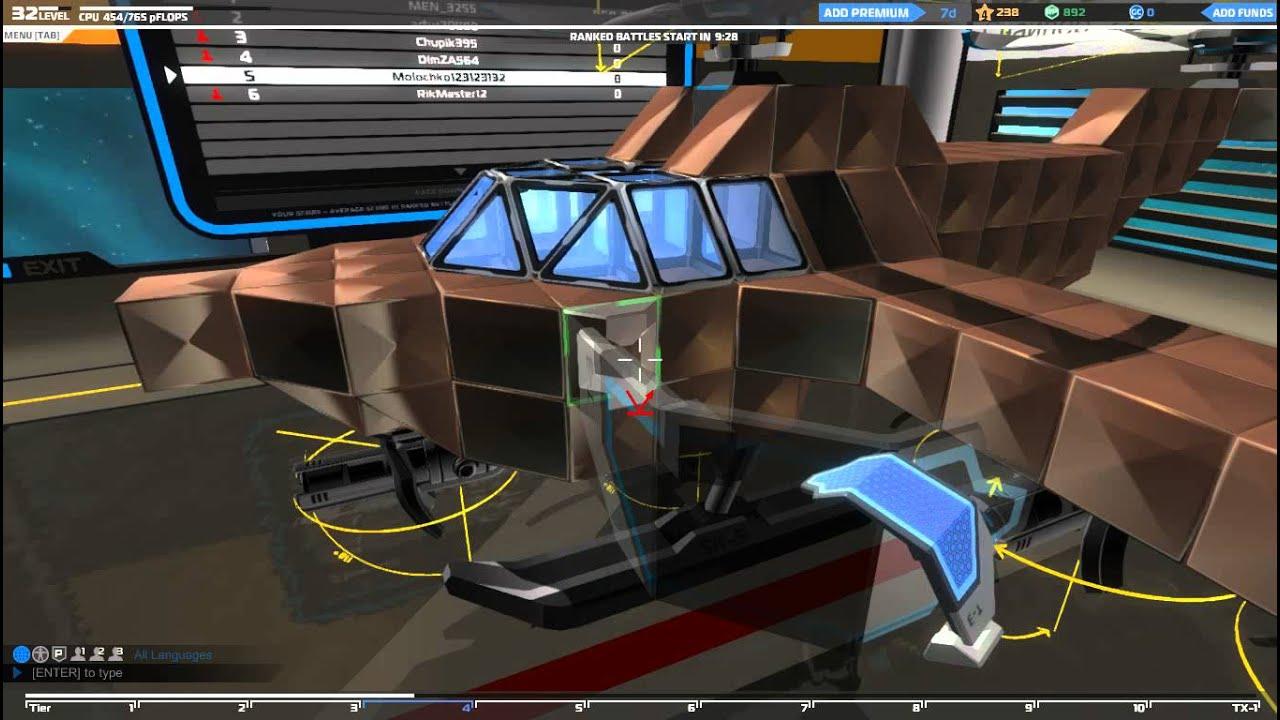 Как сделать вертолет в робокрафт
