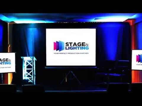 STARTER CONFERENCE Packages - Stage and Lighting