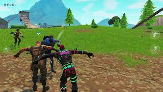 On fortnite Danceing in the same time