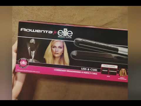 Випрямляч для волосся Rowenta Elite Model Look SF4522