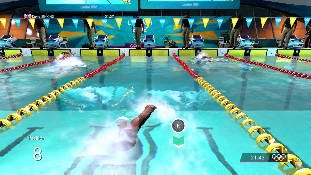 London 2012 The Official Game Swimming Events Youtube