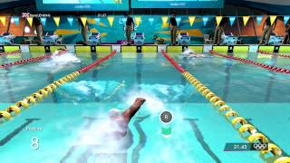 London 2012 The Official Game: Swimming Events