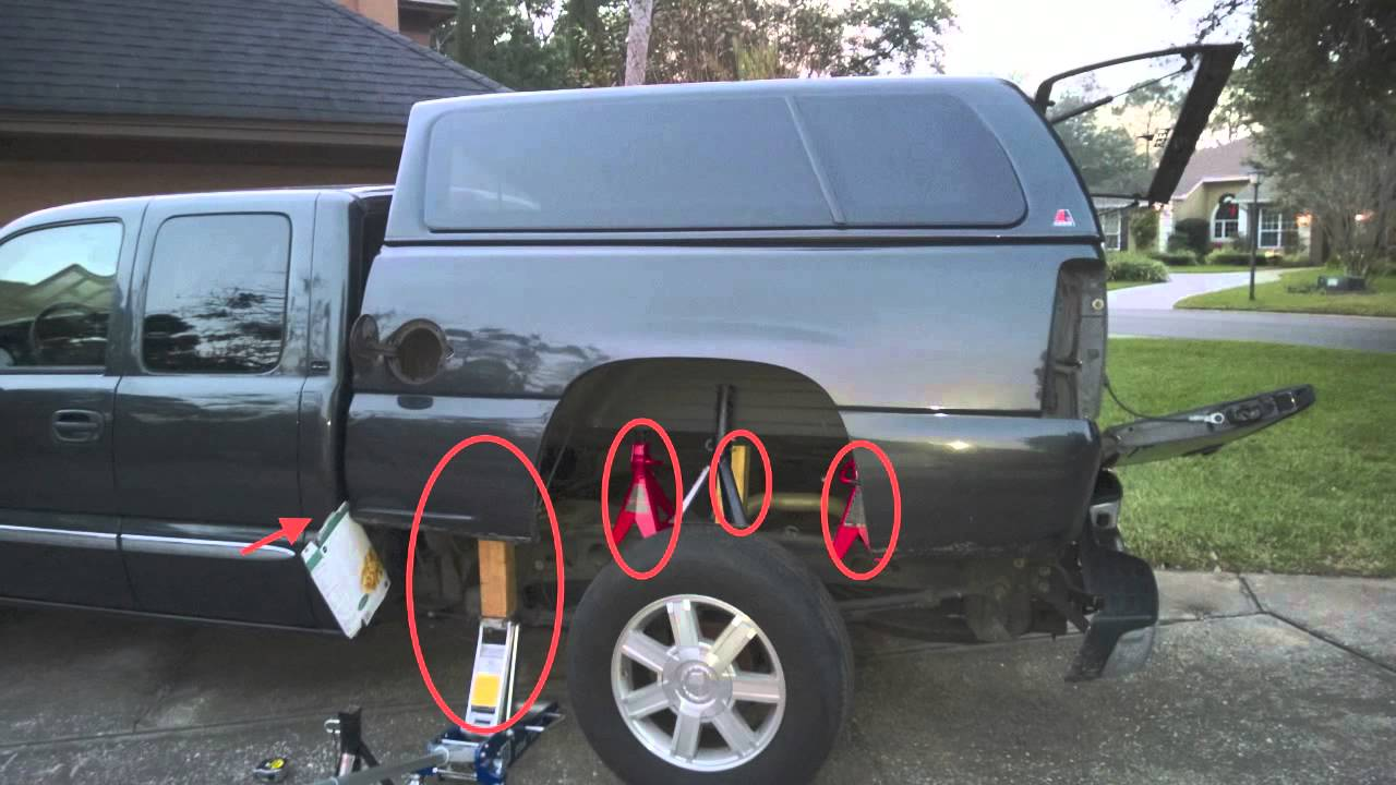 2003 GMC Sierra Fuel Pump Replacement - YouTube