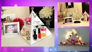 5 DIY Room Decor Recycling ideas Quick and Easy Hacks for Decorating!