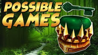 Jade Crown LEAK? Possible Games with the Jade Crown!! | Roblox | Ready Player One Event