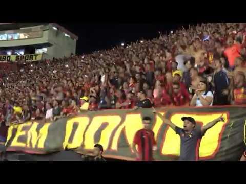 Sport 2x0 Bahia - Jovem Sport fazendo a festa na Arquibancada.