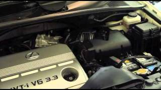 Lexus RX330 Air Cleaner Replacement