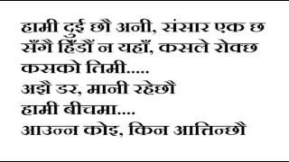 Malai Thaha Chhaina Sugam Pokharel Karaoke