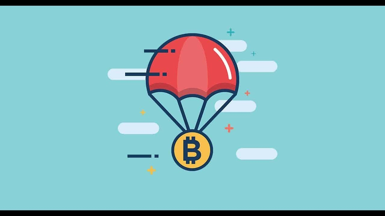cryptocurrency airdrop coins
