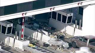 1 dead, seven injured in Oakland bridge crash