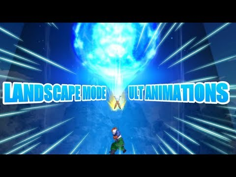 Landscape Mode- All Ultimate Attacks And Special Supers   Dragonball DB Legends  4k 60 FPS 