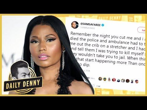 Nicki Minaj And Ex Safaree Samuels Go At It On Twitter | #DailyDenny