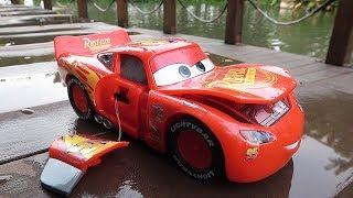 Disney Cars Toys Smash Lightning Mcqueen & Cruz Ramirez RC Vehicle