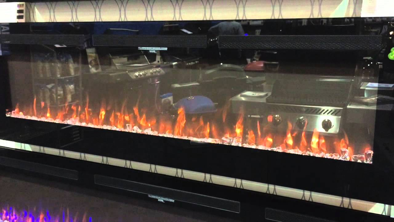 napoleon allure 72 electric fireplace youtube