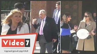 بالفيديو.. سامح عاشور وأبو حامد وندى بسيونى يشاركون باحتفالات أعياد الميلاد بالكاتدرائية