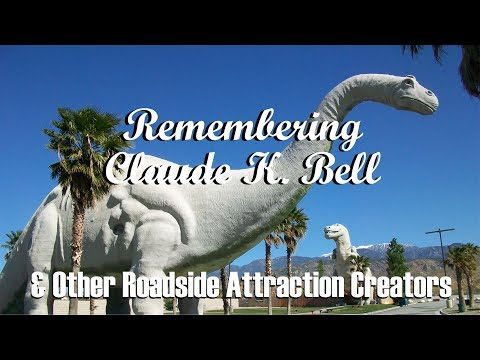 famous-grave---finding-claude-k-bell-(cabazon-dinosaurs)-&-other-roadside-attraction-creators