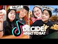 TIKTOKERS Decide What I EAT For 24 HOURS!! (LUH Grabe!)