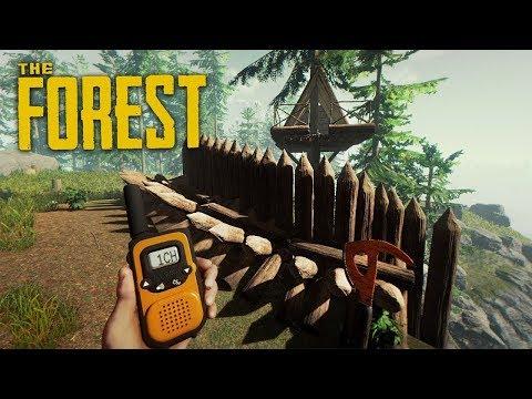 THE FOREST - УКРЕПЛЯЕМ ОБОРОНУ БАЗЫ!!