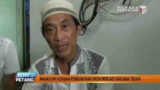 Pemakaman Mahasiswi Jakarta Korban Pembunuhan | KOMPASTV
