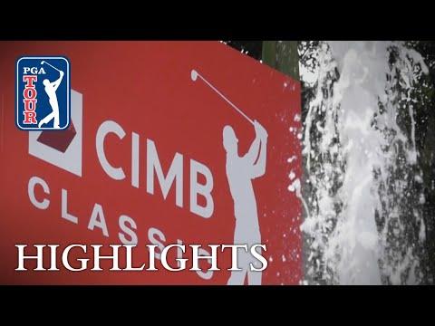 Highlights | Round 1 | CIMB 2018