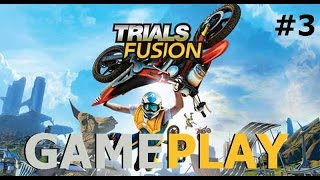 Trials Fusion - Caos Urbano (Xbox360, Xbox One, Ps4, Ps3) - gameplay ita