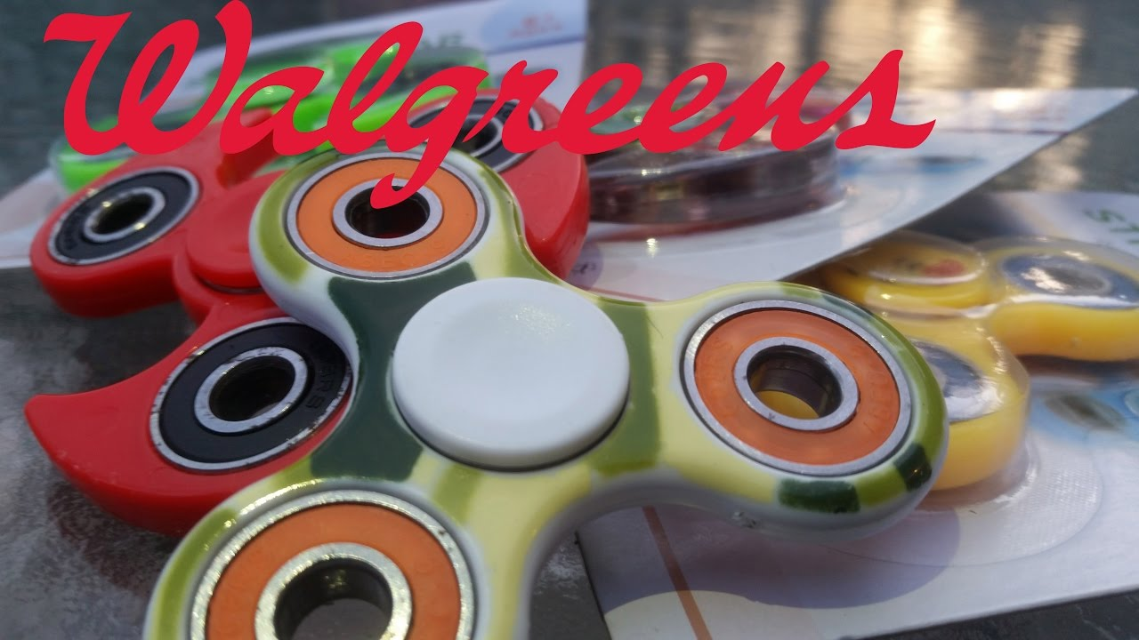 fidget spinners at walgreens