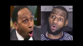 Stephen A. Smith SHOCKED over Lakers destroyed Warriors after LeBron James injury | First Take