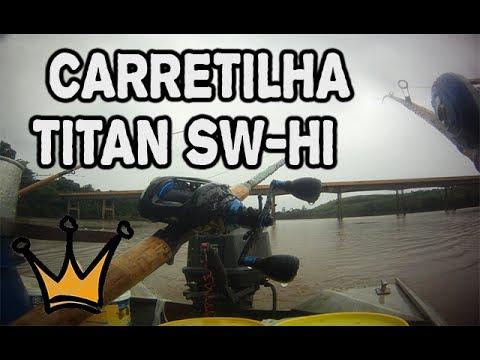 Análise Carretilha Marine Sport Titan SW HI