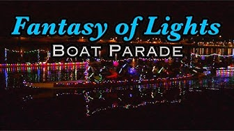 Fantasy of Lights Boat Parade - Tempe Town Lake